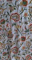 Kashmiri Handmade Embroidered Silk Curtains