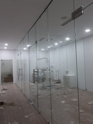 Toughened Frameless Glass Partitions
