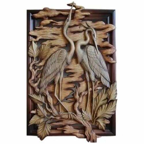 teak-wood-3d-wall-hanging-design-500x500