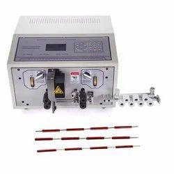 ST-02B High Speed Double Lane Wire Cutting Stripping Machine