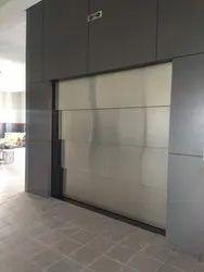 Stainless Steel,Mild Steel Vertical Telescopic Auto Door For Car,Goods Lift
