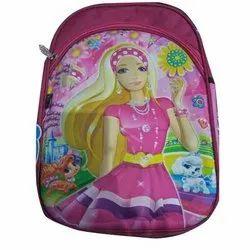Canvas Multicolor Girls Printed School Bag