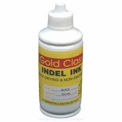 Gold Class 100 ml Black Indel Ink