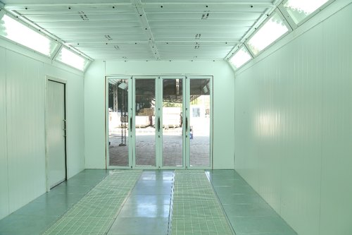 ATS ELGI Paint Booth, Ats Elgi Limited | ID: 7477260833