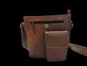 Genuine Leather Designer Messenger Bag