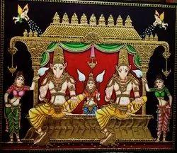 Ashwini Kumarargal Tanjore Painting