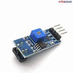 Robocraze Tcrt 5000 Infrared Reflective Sensor Module Ir Barrier Line Track Photoelectric