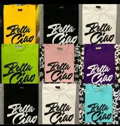 Cotton TShirt For On Line Selling
