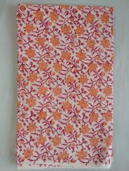 Cotton Hand Block Print Fabric