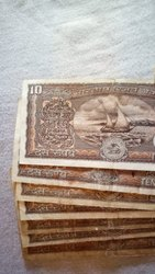 10 Rupees Old Notes