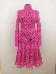 Premium Cotton Crochet Dress