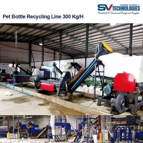 Pet Bottle Recycling Line 300 Kg/H