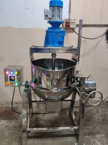 Electrical Heating Jacketed Mixing Cum Tilting Kettle