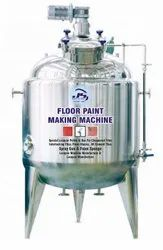 Floor Paint Making Machine