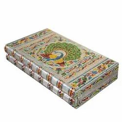 Indian Wooden Handicraft Jewelry Box