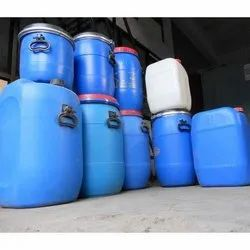 ADITYA Blue Liquid Plastic Container, Capacity: 0 to 50 Litres, Packaging Type: Paste And Powder