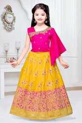 Girls designer cut lehenga choli