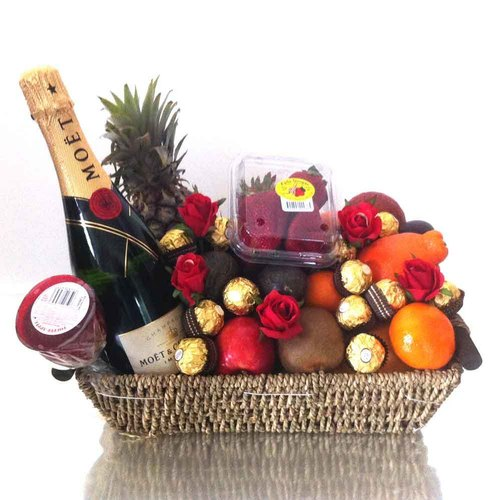 Festival Fruit Flower Basket