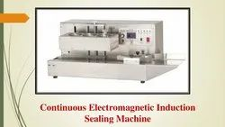 Continuous Electromagnetic Induction Sealing Machine