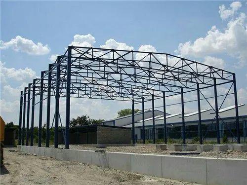 Mild Steel Modular Industrial Shed Fabrication