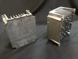Polished Aluminium die casted heat Sink for Variable Frequency Drive, for Automotive Industry