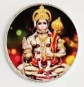Hanuman Color Silver Coin 10 gm