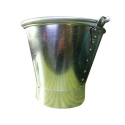Stainless Steel Buckets, Capacity: 7-10 Litre