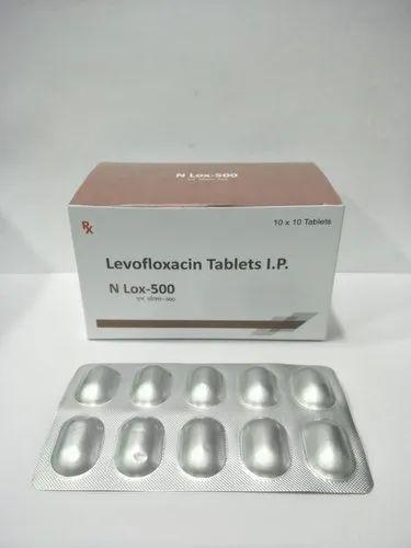 Levofloxacin Hemihydrate Tablets IP, Packaging Type: Box