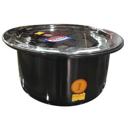 Black Natraj Aluminium Tope, For Home, Restaurant, Capacity: 20 Kg