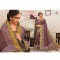 Rachna Art Silk Digital Printed Silkken Dobara Saree Catalog For Women 6