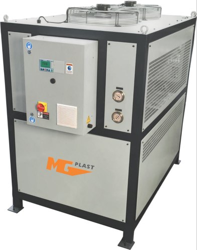 MG Plast Air Cooled Water Chiller, 220-440V, Automatic Grade: Automatic