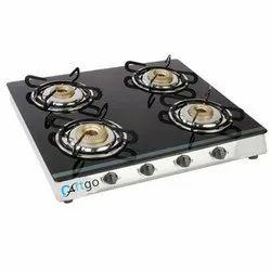 Black Cartgo Kitchen Gas Cooktop