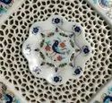 Octagonal Marble Inlay Table Top, Marble Table Inlay Top