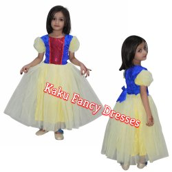 Kids Snow White Gown Costume