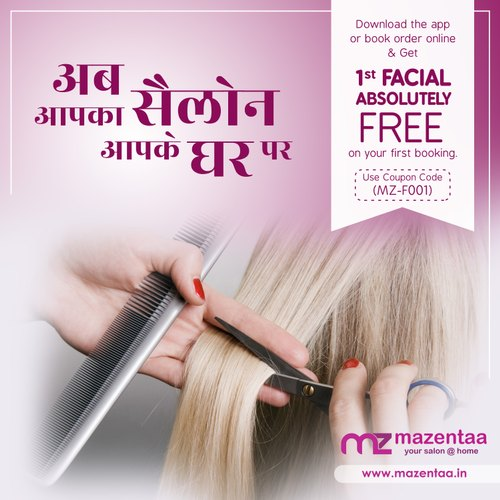 Service Provider of Facial At Home & Spa AT Home by Mazentaa