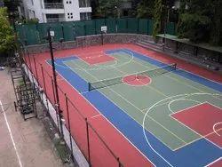 Basketball Court Flooring Service