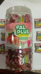 12 Months Strawberry Harnik Fal Plus Candy, Packaging Type: Plastic Jar