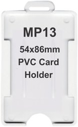 MP13 Vertical PVC Card Holders