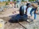 Black Narmadeshwar God Statue For Temple Pooja