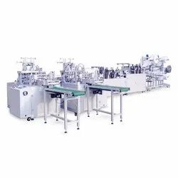 Fully Automatic Attached Nose Pin Face Mask Making Machine