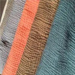 Crinkle Double Gauze Soft Fabric
