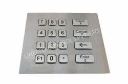 ATM Machine Stainless Steel Key Board