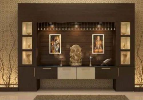 Pooja Room Designing Services, Flat Interior Designers, Home ...