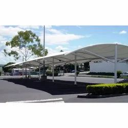 Car Parking Shed Tensile Structure