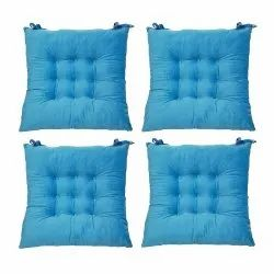 100% Cotton Chair Pad Set Of 4 Pcs