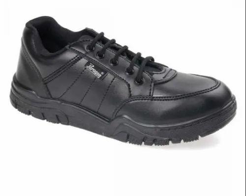 Paragon Boys Black School Shoes, Size