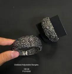 Oxidized Bangels (Adjustable) OB 07