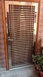 Jindal Standard Stainless steel jali door, Thickness: 18 Gauge, Material Grade: Ss 304