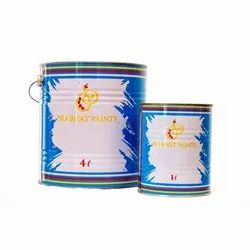 Solvent Based Decorative Synthetic Enamels, Packaging Type: Tin