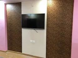 Printed Charcoal PVC Wall Paneling, Thickness: 5mm, Size: 8ft X 4ft & 8ft X 2ft